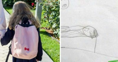 Dibujo de niña revela abuso sexual
