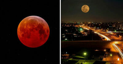 luna de sangre, eclipse total