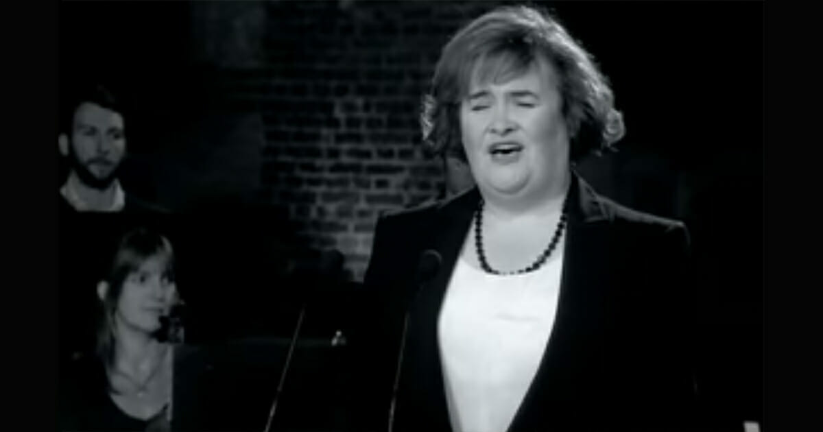 susan boyle, unchained melody
